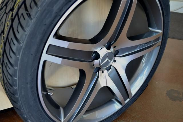 22 MERCEDES WHEELS/RIM+TIRES R320 R350 R500 ML63 GLK350