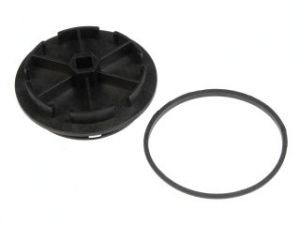 Ford 94 97 7.3L Diesel Fuel Filter Cap w/O Ring   NEW