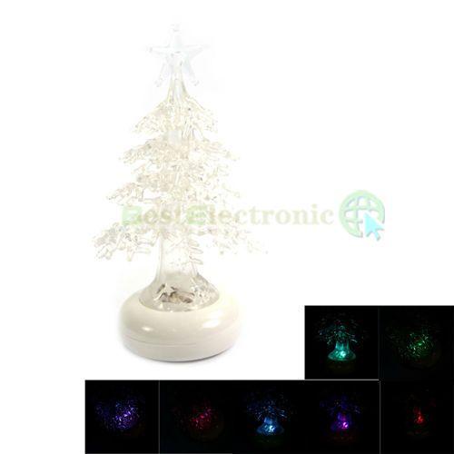 Colorful USB Christmas Tree Desk Mini Decor Xmas New