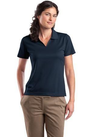 Sport Tek   Ladies Dri Mesh V Neck Sport Shirt. L469