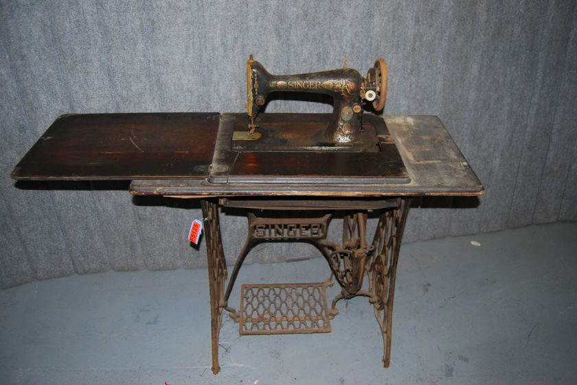 Antique 1911 Singer Sewing Machine Table FOR PARTS F5125